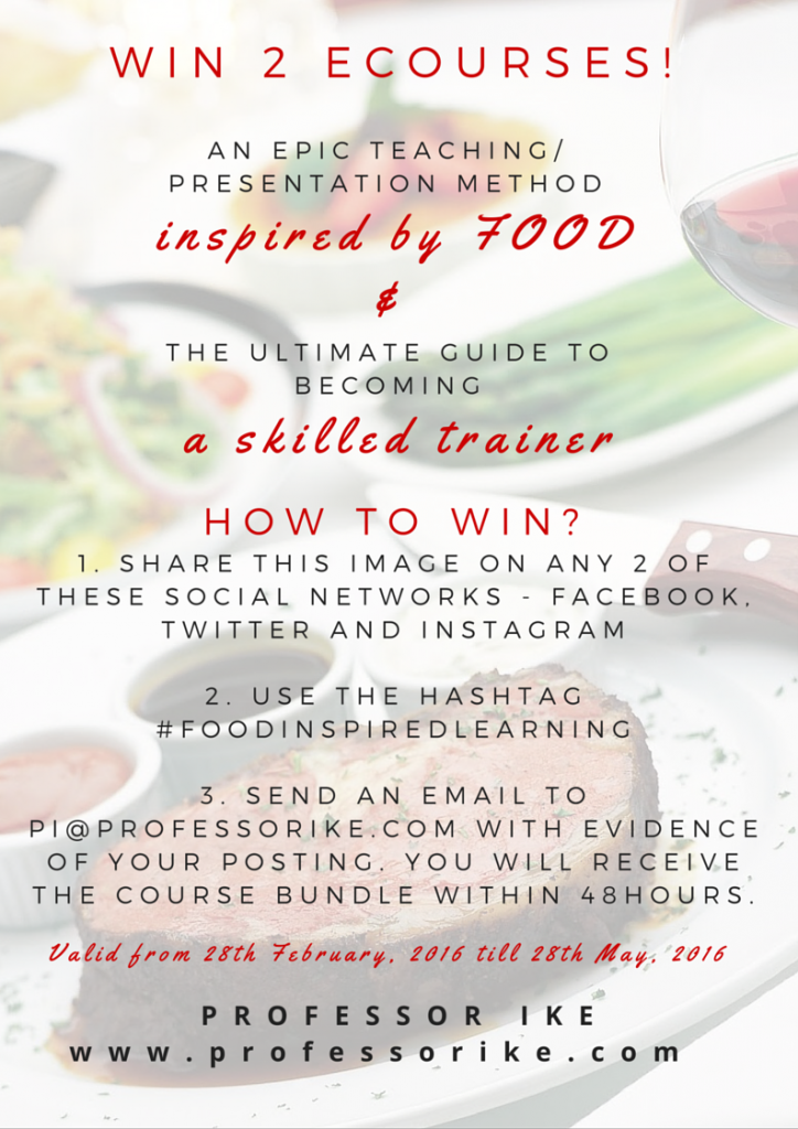 win a free course